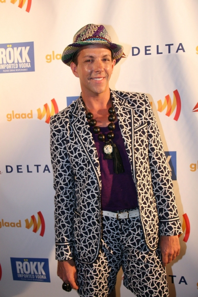 Derek Warburton. Photo Credit: Peter Lau Photography at Lampanelli, Bass, et al. at GLAAD Event!