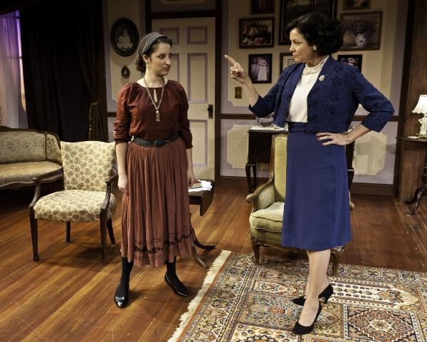 Renee Reinecke as Mitzi and Mary Williams as Letitia Blacklock