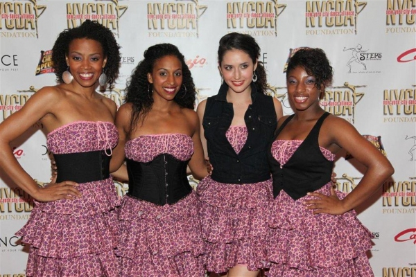 The Syncopated Ladies: Karida Griffin, Chloe Arnold, Anissa Irving, Melinda Sullivan