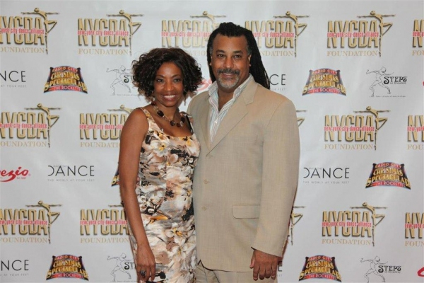 Tony Award Winner Adriane Lenox and husband musician Zane Mark