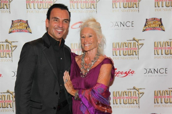 Joe Lanteri, sponsor Carol Paumgarten; Steps on Broadway