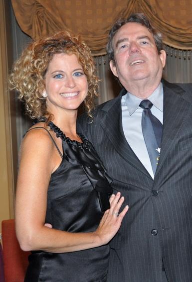 Laura Savini and Jimmy Webb