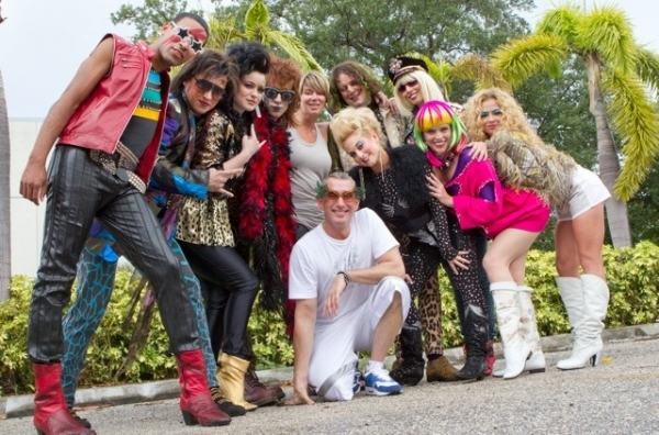Adam Shankman with Jimmy Arguello, J. Michael Zygo, Holly Laurent, Josh Sassanella, Mia Michaels (ROA Choreographer), Patrick Lewallen, Lauralyn Mcclelland, Angela Brydon, Erika Shannon, and Serena Soffer
