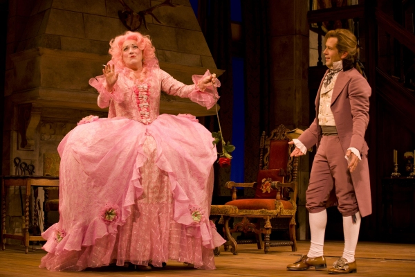 Photo Flash: First Look at WTF's SHE STOOPS TO CONQUER