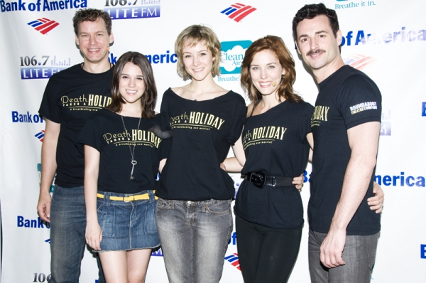 Kevin Earley, Alexandra Socha, Jill Paice, Mara Davi and Max Von Essen