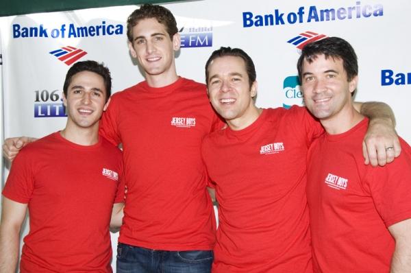 Russel Fischer, Ryan Jesse, Erik Bates, and Miles Aubrey  Photo
