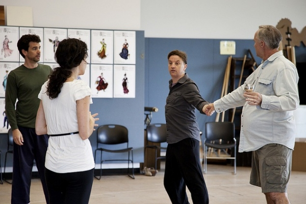 David works with Robert O. Berdahl (Captain Corcoran) Heather Lindell (Josephine) and Photo