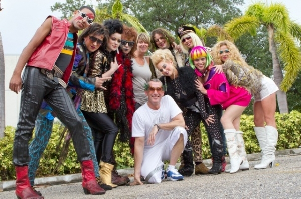 Adam Shankman with Jimmy Arguello, J. Michael Zygo, Holly Laurent, Josh Sassanella, Mia Michaels (ROA Choreographer), Patrick Lewallen, Lauralyn Mcclelland, Angela Brydon, Erika Shannon, and Serena Soffer.