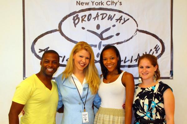 Tyrick Wiltez Jones (Assistant Director), Jennifer Johns (Program Director), Nikki M. James, and Michelle R. Lehrman (Admissions Director)