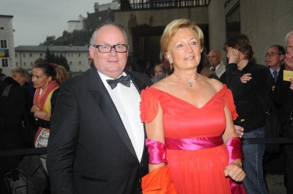 Advocate General Christian Konrad and Wife Rotraud
