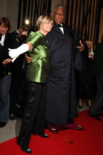 Princess Gloria Von Thurn Und Taxis and Andre Leon Talley