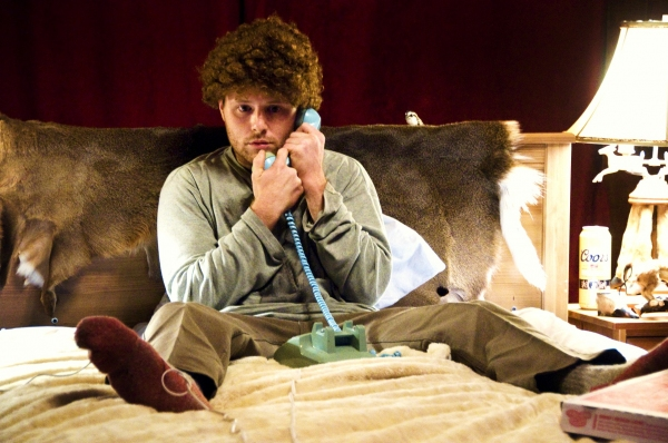 William Apps as Dantly in Animals and Plants.
