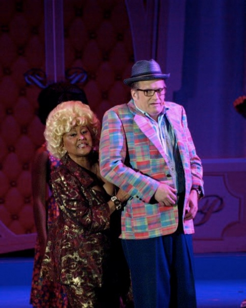 Darlene Love and Drew Carey at HAIRSPRAY Opens at the Hollywood Bowl Part One