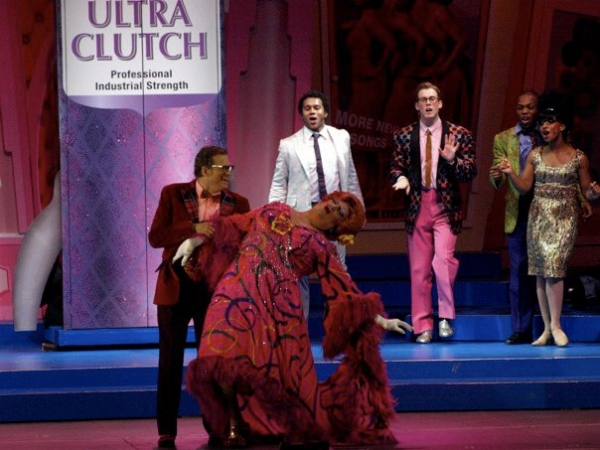 Drew Carey and Harvey Fierstein at HAIRSPRAY Opens at the Hollywood Bowl Part Two