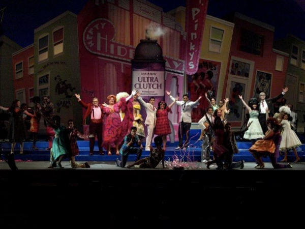 Drew Carey, Harvey Fierstein, Nick Jonas and Marissa Jaret Winokur and the cast of HAIRSPRAY Opens at the Hollywood Bowl at HAIRSPRAY Opens at the Hollywood Bowl Part Two