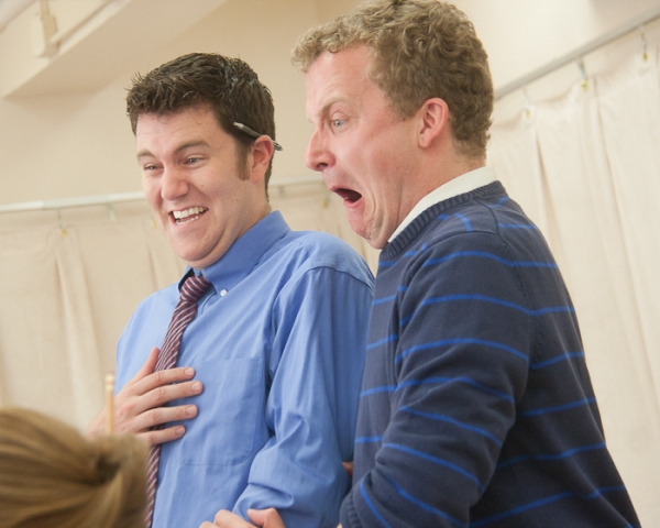Photo Coverage: THE CLASSROOM in Rehearsals