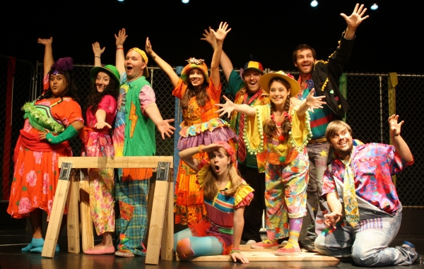 Photo Flash: GODSPELL Rehearsal at Steps Off Broadway Productions