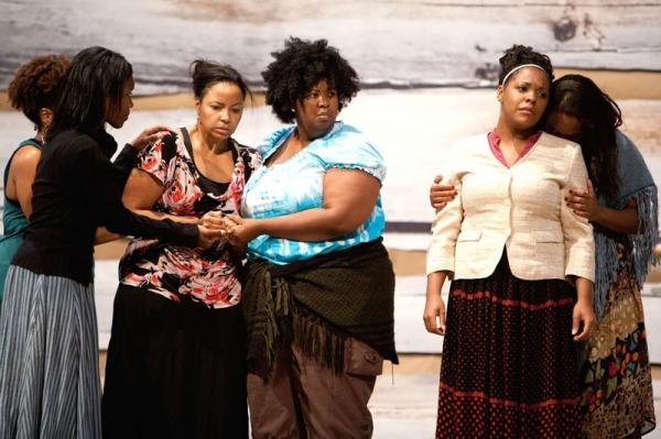 Lisa Nicole Wilkerson, Heather Hill, NaTasha Yvette Williams, Bryonha Marie Parham, and Alicia Hall Moran