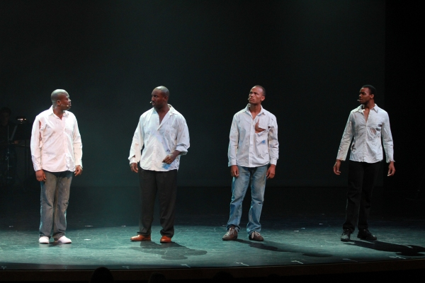 Tituss Burgess, Quentin Earl Darrington, Christian Brailsford and Paris Alexander Nesbitt