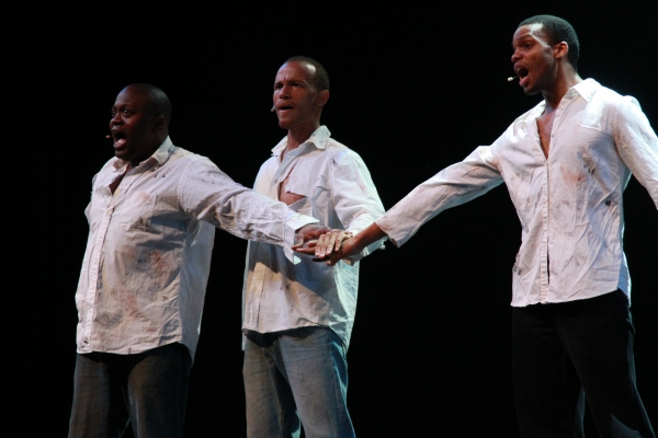 Tituss Burgess with Christian Brailsford and Paris Alexander Nesbitt