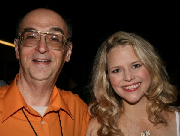 Tony Annicone of Theater Mirror and Sarah Pfisterer