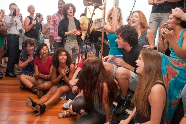 Photo Coverage: HAIR Cast Holds Broadway Impact Be-In!