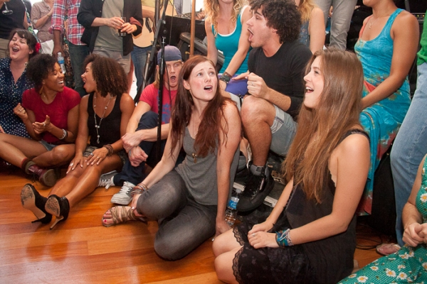 Photos: HAIR Cast Holds Broadway Impact Be-In!