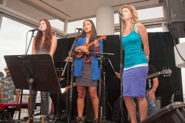 Allison Case, Katie Kiyan, and Kacie Sheik
