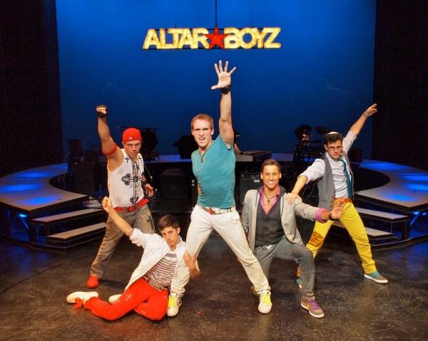 Travis Morin (Luke), Adam Cassel (Mark) Ralph Meitzler (Matthew), Patrick Ortiz (Juan) and Ian Joseph (Abraham)