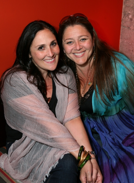 Ricki Lake (L) and Camryn Manheim