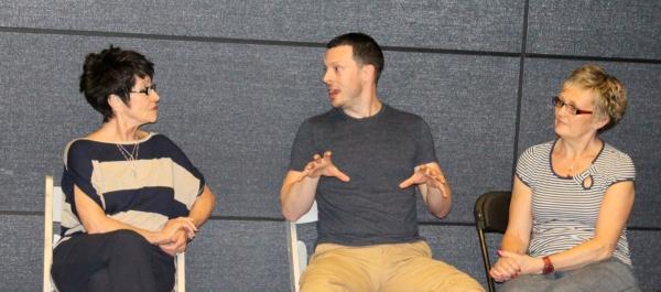 Chita Rivera,  Ben Hartley (Program Founder & Director), and Karen Speers (UK Coordinator)