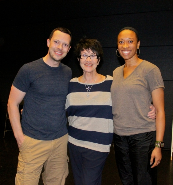 Ben Hartley (Program Founder & Director), Chita Rivera and Amy Hall (2011 faculty)