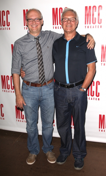 Playwright: Jeff Talbot & Director: Walter Bobbie attending the Meet & Greet the Cast for MCC's Premiere Production of 'The Submission' in New York City.