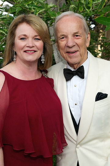 High Res Debbie Turner and Conrad Prebys at the 2011 Globe Gala Honoring Audrey Geisel, July 30, 2011. Photo by Carol Sonstein.