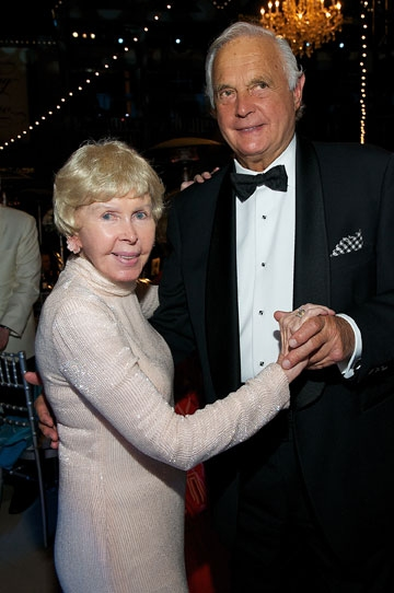 Honoree Audrey Geisel and Alex Butterfield at the 2011 Globe Gala Honoring Audrey Gei Photo