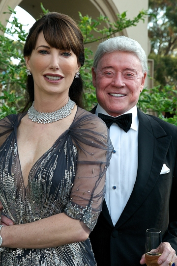 Valerie and Harry Cooper at the 2011 Globe Gala Honoring Audrey Geisel, July 30, 2011. Photo by Carol Sonstein.
