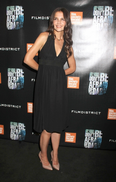 Katie Holmes at Don't Be Afraid of the Dark Premieres in NYC