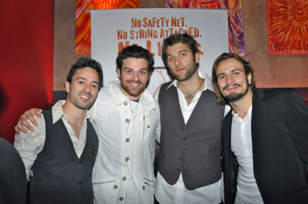 Mathieu Cloutier, Philippe Normand-Jenny, Mason Ames and Florian Zumkehr
