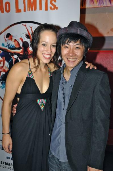 Valerie Benoit-Charbonneau and Xia Zhengqi