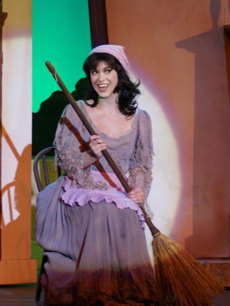 Annie Wessendarp as Cinderella