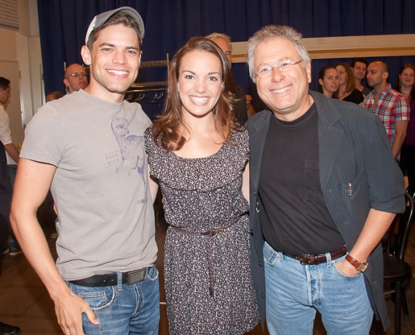 Photo Coverage: Cast and Creative Team of Paper Mill Playhouse's NEWSIES Meets the Press!