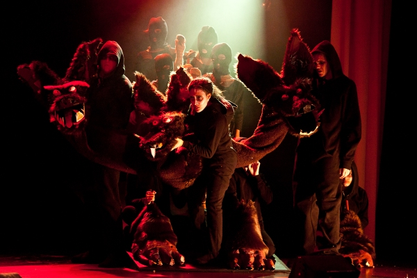 "Pavel Czernek, Judah Lacy, Chris Hunter and the �""Cerberus"" puppeteers"