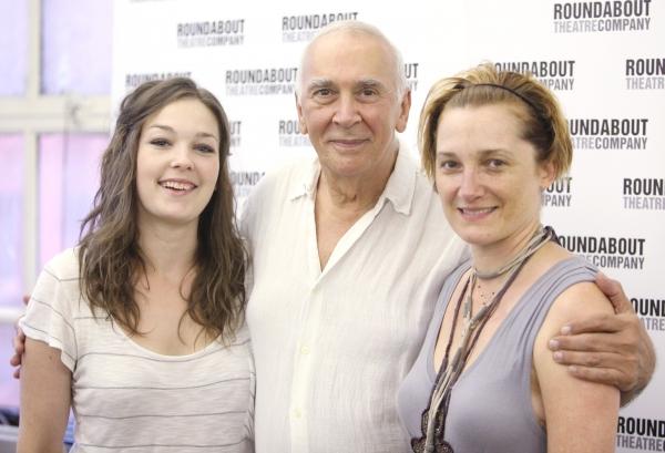 Virgina Kull, Frank Langella & Francesca Faridany