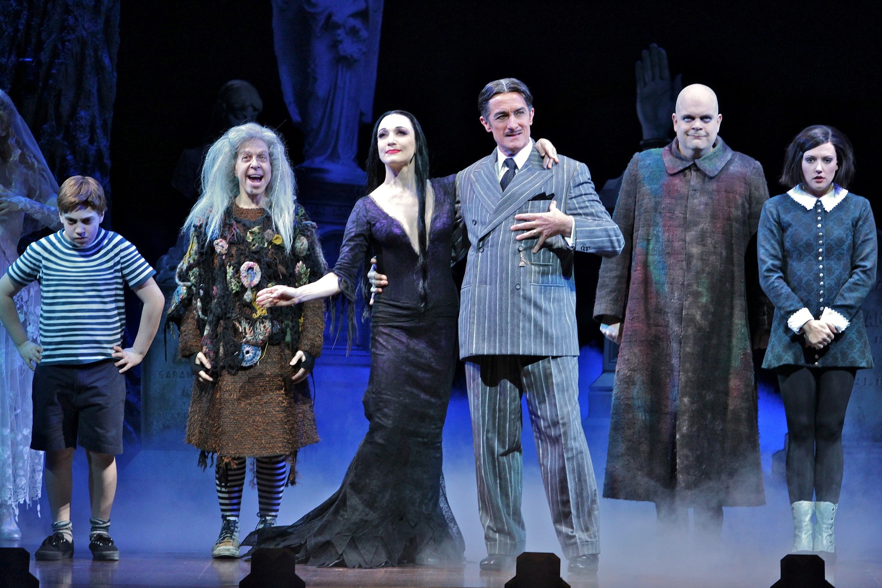 Full Casting Announced For The Addams Family Broadway Smash Plays Arsht Center