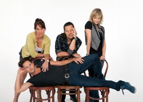 Laura Shoop, Jason Wooten, Nadine Isenegger and Andrew Call  Photo