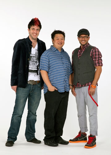 Mike Wilkins, director Oanh Nguyen and choreographer JT Horenstein