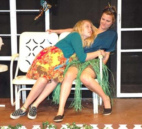 Lila LeCuyer and Katy Taylor Photo