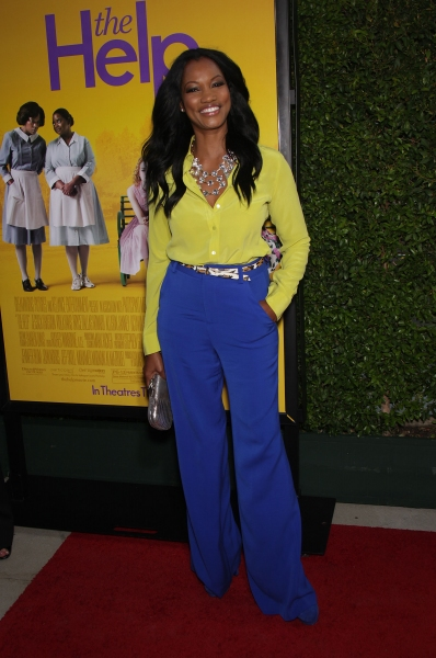Garcelle Beauvais at THE HELP Premieres in Hollywood