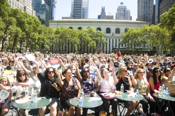 Photo Coverage: PRISCILLA, MARY POPPINS, et al. at Broadway in Bryant Park!