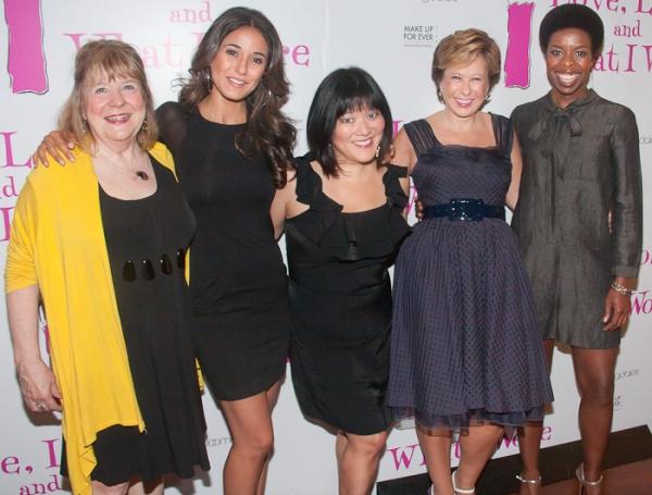 Marylouise Burke, Emmanuelle Chriqui, Ann Harada, Yeardley Smith, and Roslyn Ruff